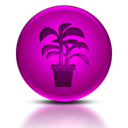 053520-pink-metallic-orb-icon-natural-wonders-plant-sc45